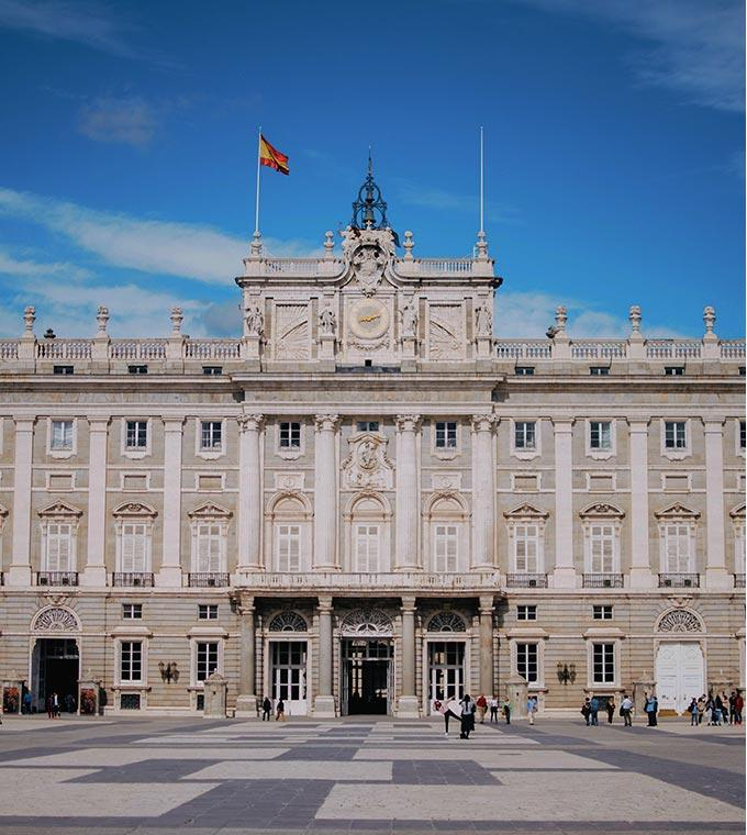 The Royal Palace of Madrid - skip the line tickets!