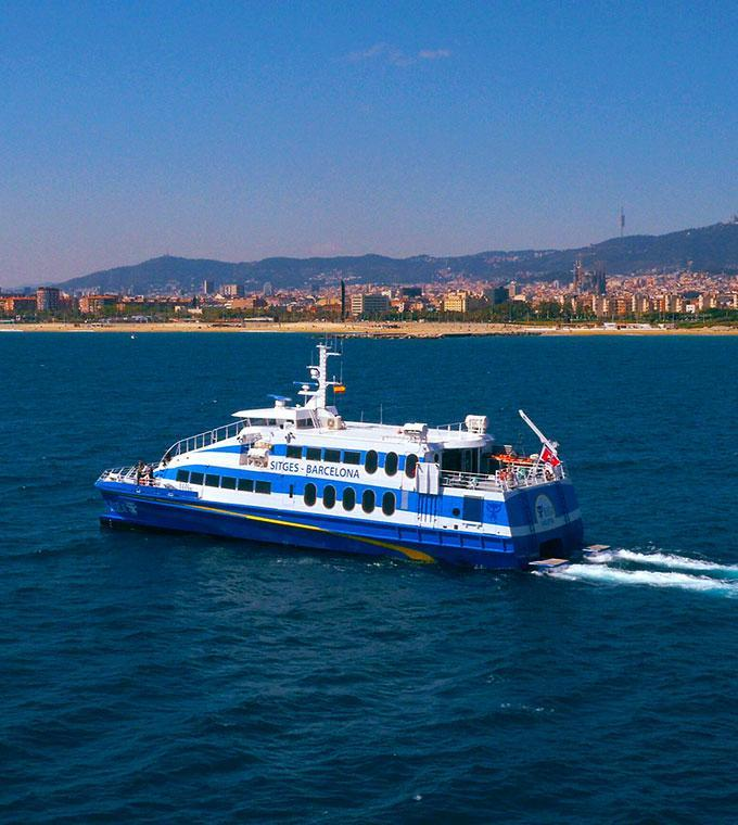 Barcelona Ferry Tickets to Sitges!