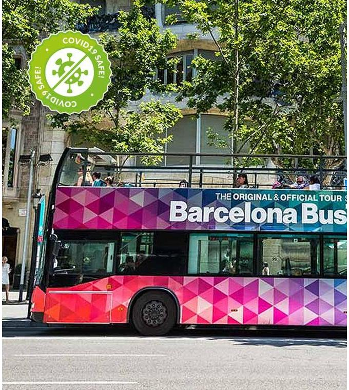 Barcelone Hop-on Hop-off Bus