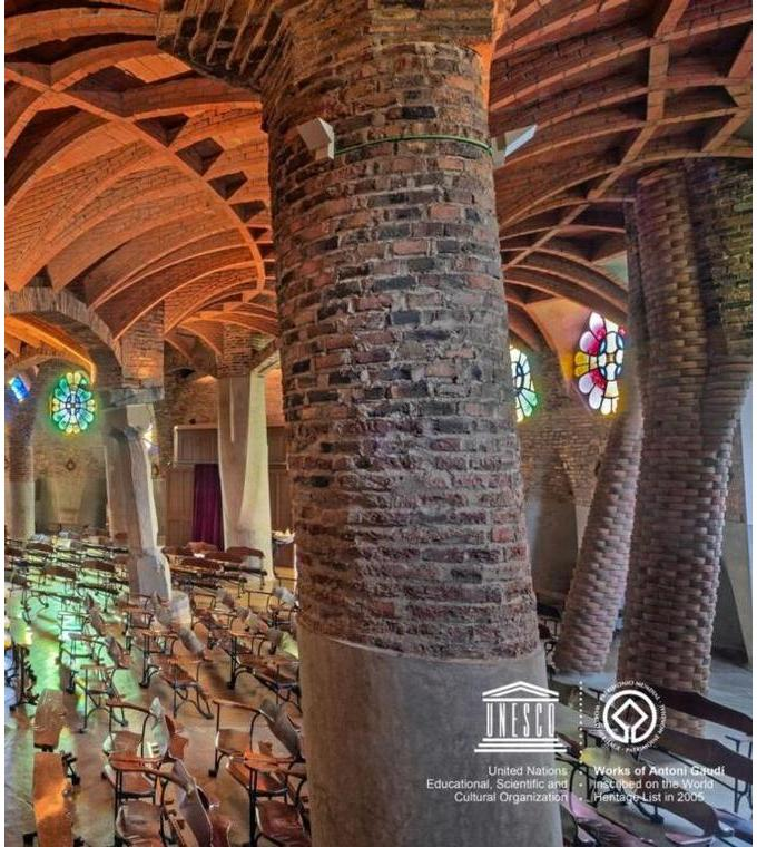Gaudi's Crypt in Colonia Güell: visit+audioguide