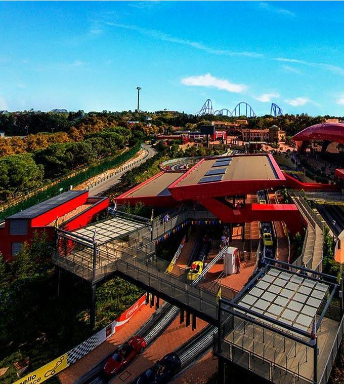Port Aventura and Ferrari Land