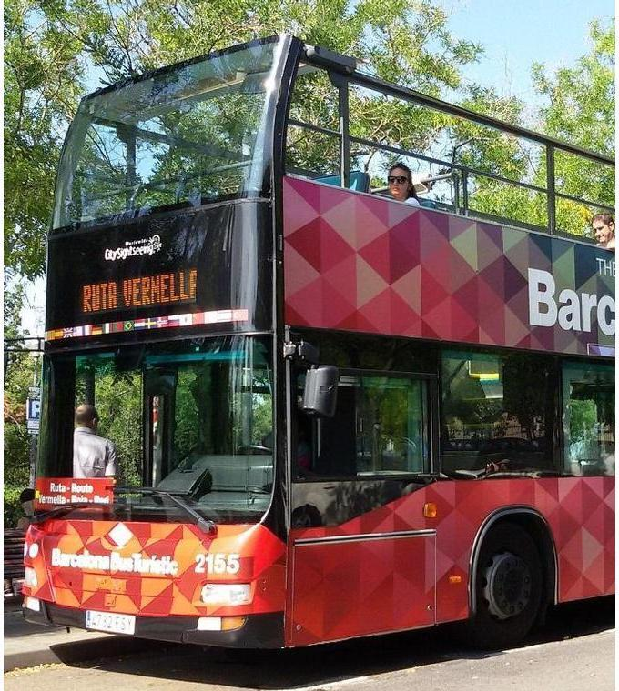 Barcelonas Hop on Hop off Buss