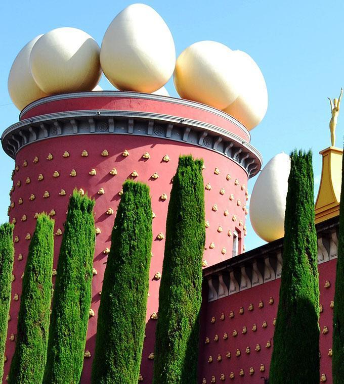Dali Museum: Skip the line ticket + busreis vanuit Barcelona