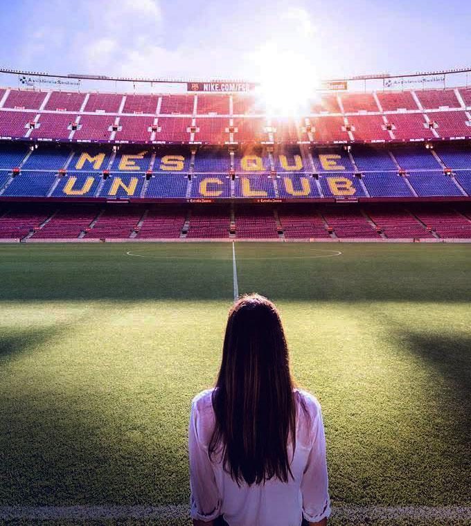 Tour dello Stadio Camp Nou Plus