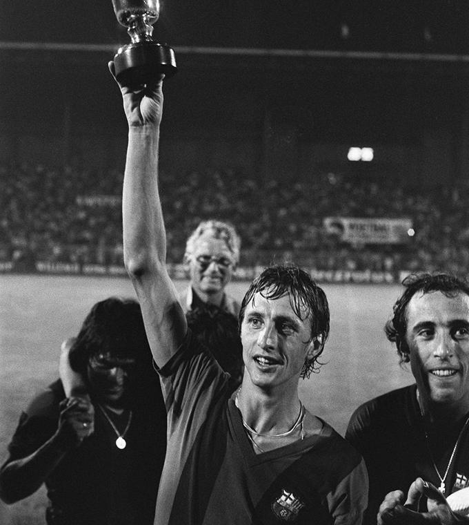 El Salvador Tour: Johan Cruyff in Camp Nou