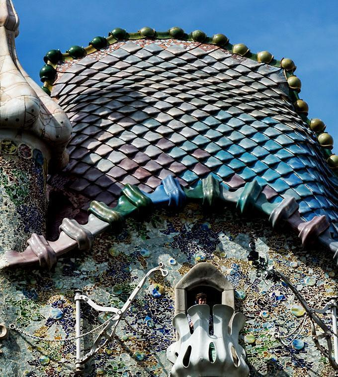 Casa Batllo + engelsk video guider (Blue ticket)