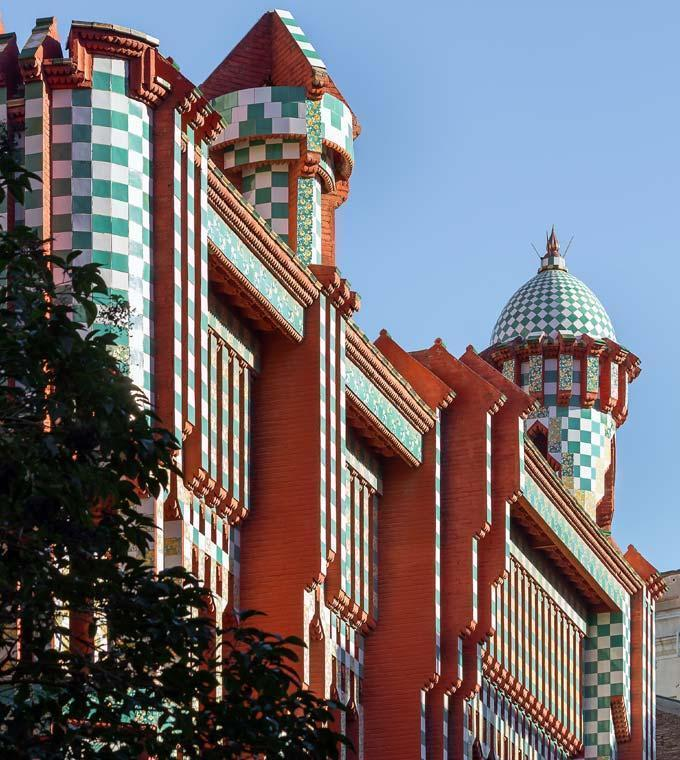 Casa Vicens - Billet coupe-file!