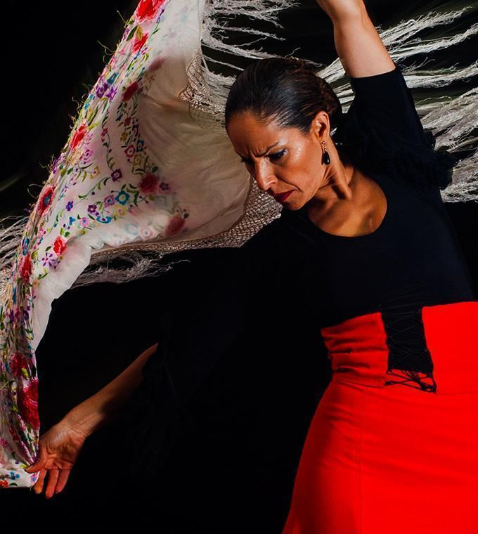 Flamenco showen Barrio Gótico