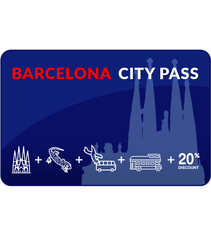 Barcelona City Pass (Inkl. Sagrada Familia + Turm + deutscher Audioguide)