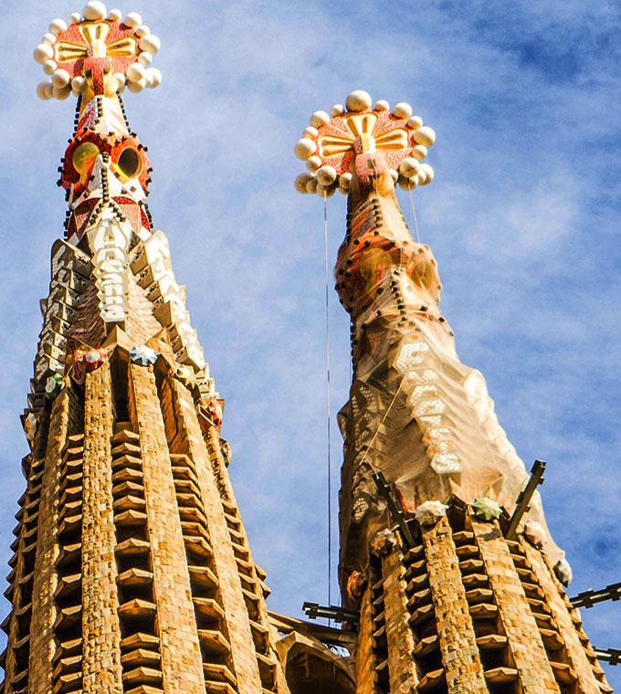 Sagrada Familia + English Audioguide + Towers