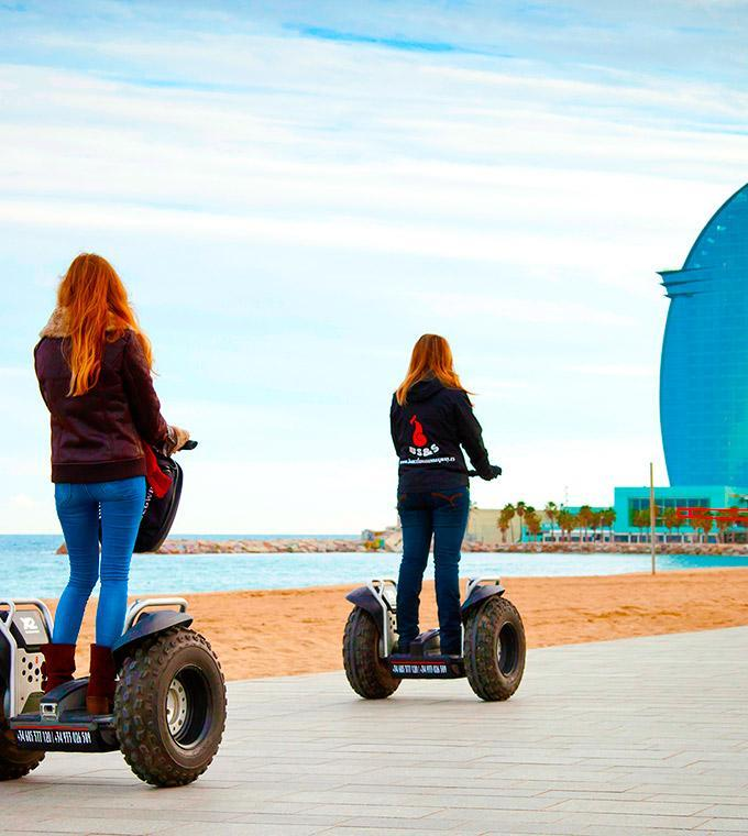 Lungo Tour in Segway