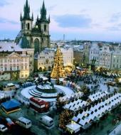 Christmas Shopping in Prague