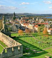 St Andrews, Fife and Dunfermline Abbey