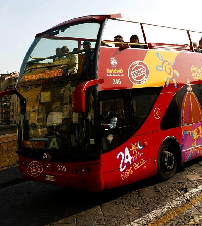 Firenze Hop On Hop Off Busz
