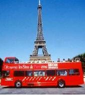 Paris Hop on Hop off Bus