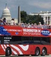 Washington Hop on Hop off Bus