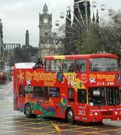 Edinburgh Hop on Hop off Bus