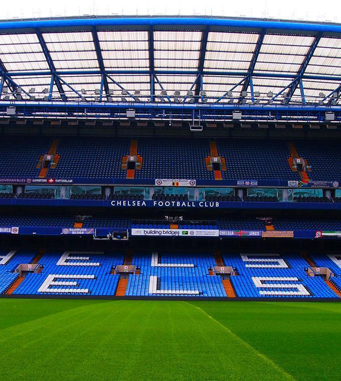 Tour por el estadio del Chelsea