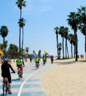 LA in a Day Bicycle tour