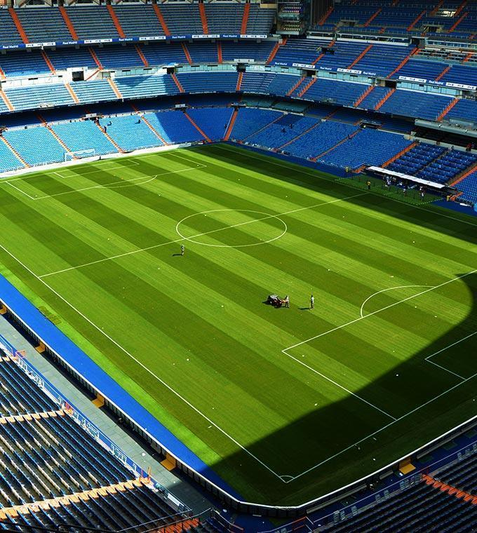 Tour allo Stadio del Real Madrid (Audioguida opzionali)
