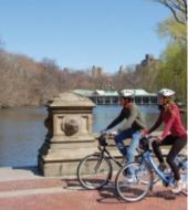 In bici per Central Park