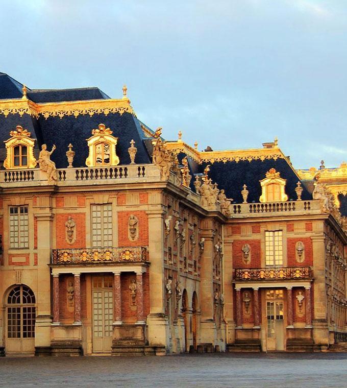 Versailles de ônibus