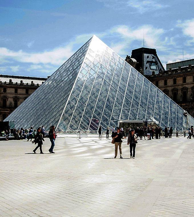 Visita ao museu do Louvre com guia de audio