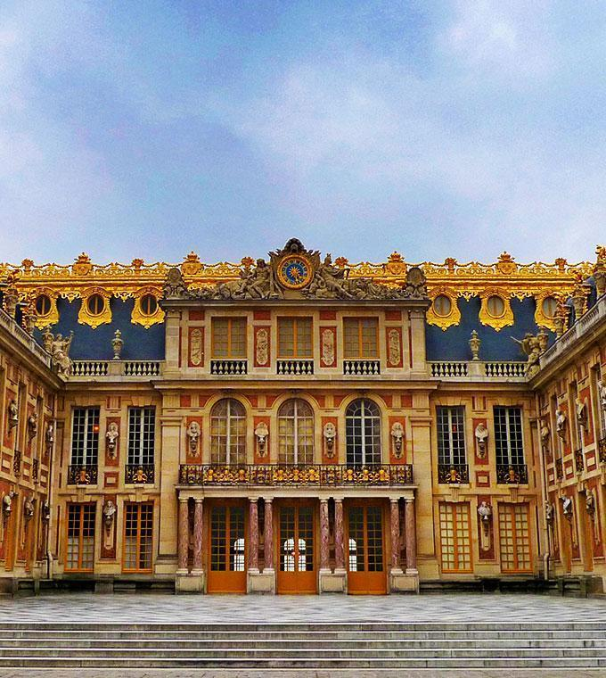 Versailles en train