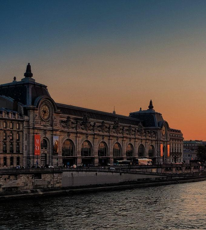 Seine Cruise & Musee d'Orsay