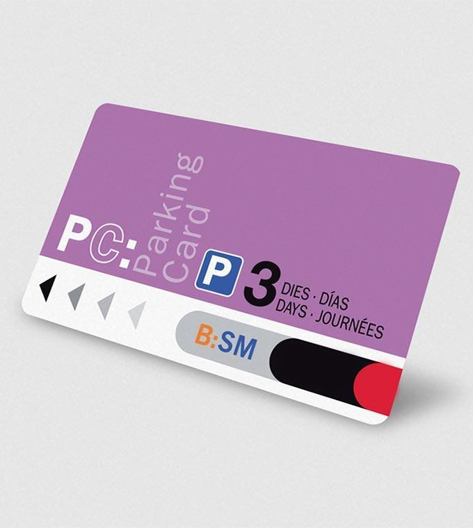Online Parking Card Paris