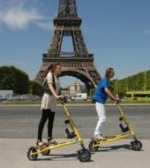 Tour por Paris con Trikke electrico