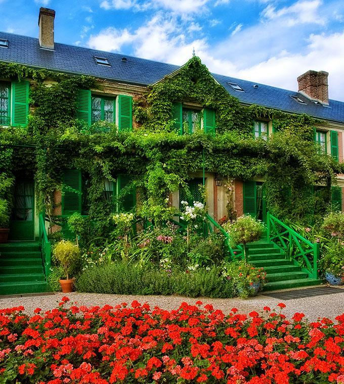 Guided tour to Giverny: Claude Monet's House