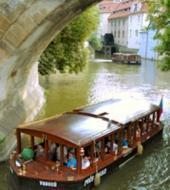 Prague's Venice sightseeing cruise on Vltava river
