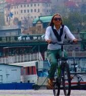 Tour en vélo classique de la ville de Prague