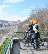 Tour en vélo électrique de Prague