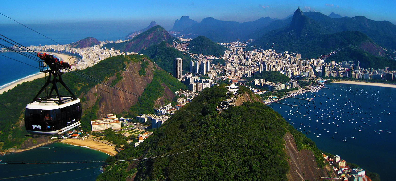 Sugar Loaf City Tour and Cable Car