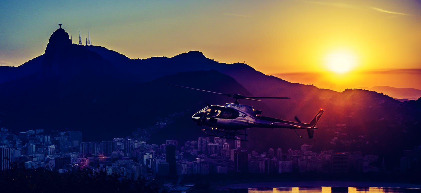 Helicopter Tour - Rio by Air