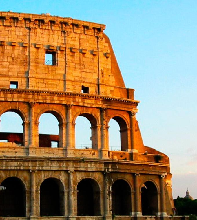 Colosseum, Roman Forum & Palatine Hill + Guide