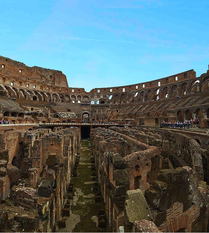 Colosseum Underground+Panoramic View (English tour)