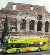 Rome Hop on Hop off Bus (guide audio français!)