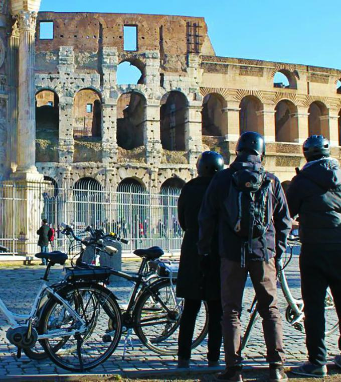 Ancient Rome E-Bike Tour