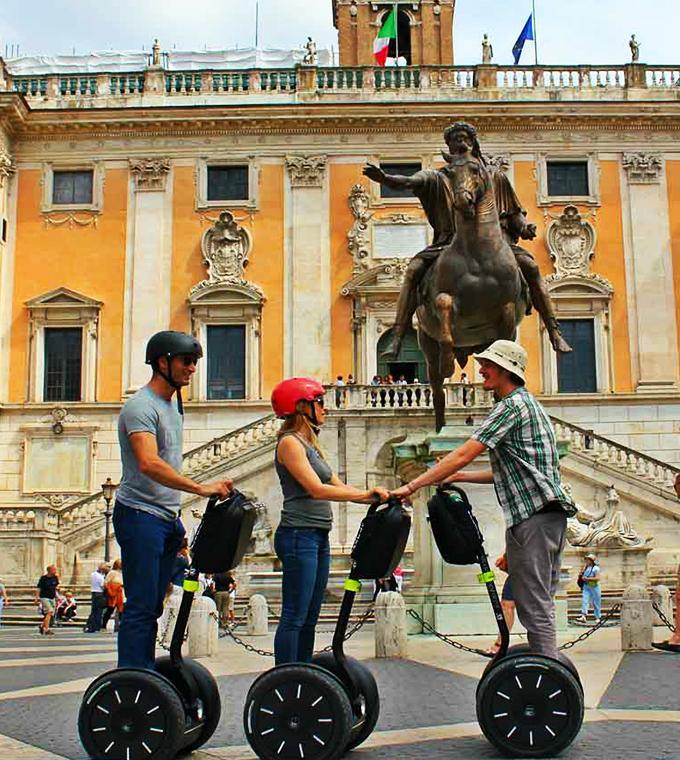 Ancient Rome Segway Tour