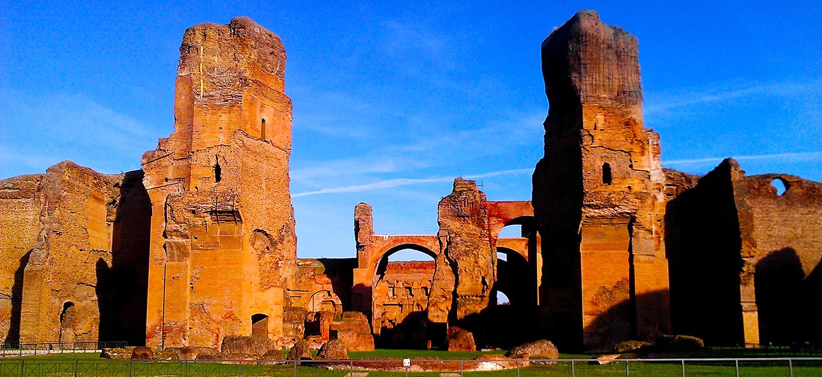 Resultado de imagen de termas de Caracalla