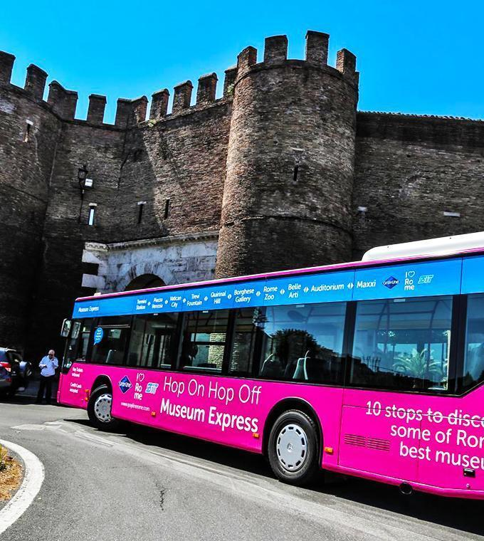 Hop on Hop off Express per i Musei