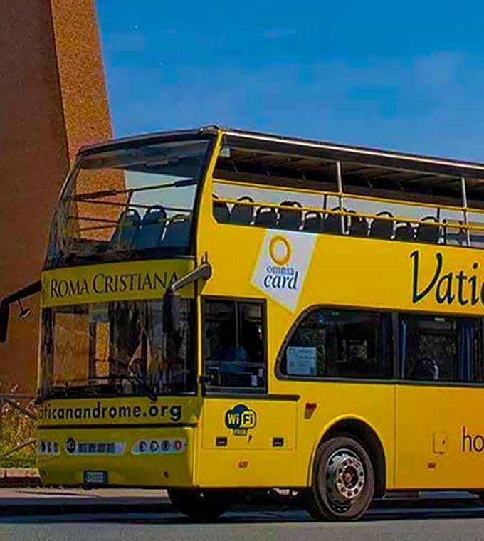 Rome Hop on Hop off Bus (ORP) - Daily Open Bus