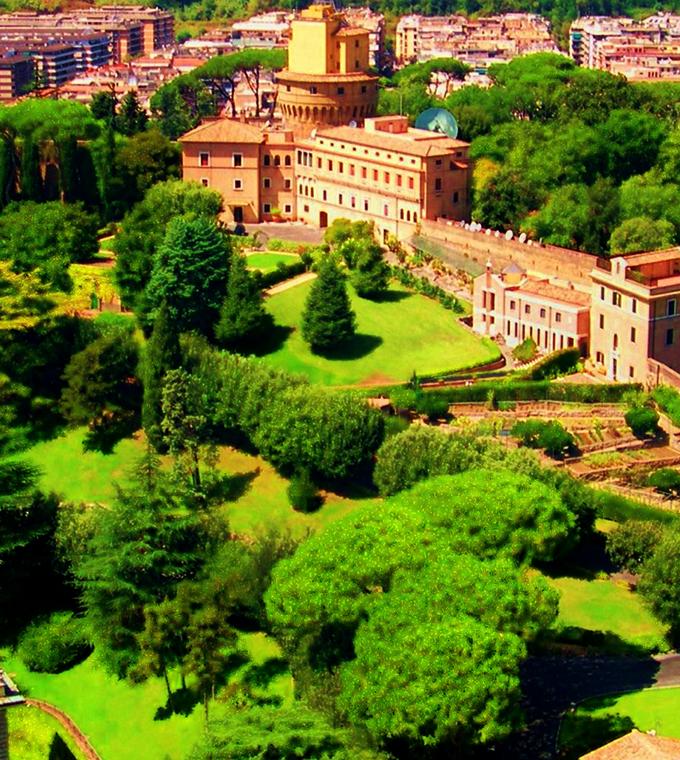 Vaticano for Jardines vaticanos