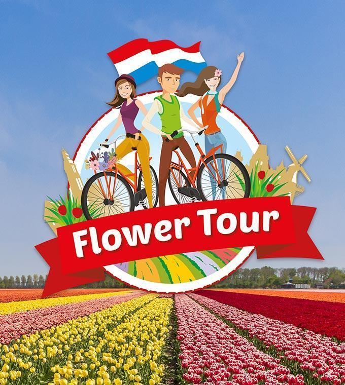 Flower tour around Keukenhof