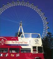 "Bus de Londres ""Hop on Hop off"""