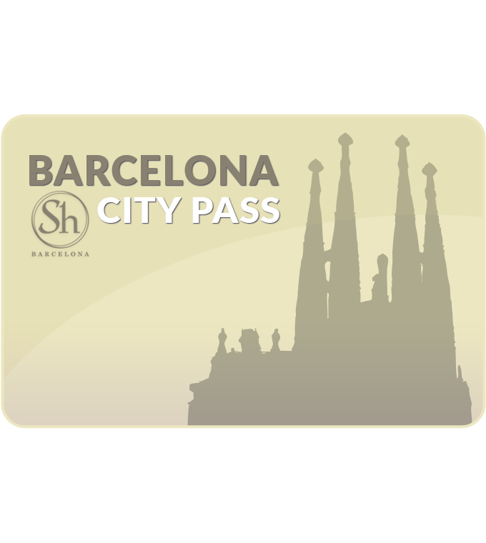 Barcelona City Pass (Incl. Sagrada Familia, Park Güell)